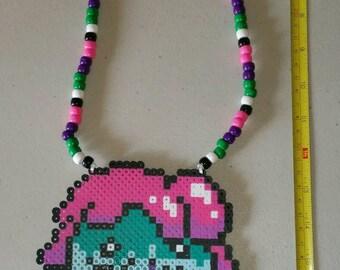 Slushmello perler necklace
