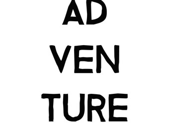 Adventure | Digital Print Download