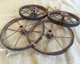Antique Buggy Wheels