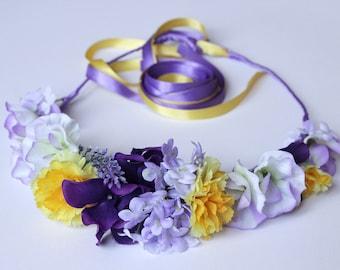 Couronne Purple & Citrus