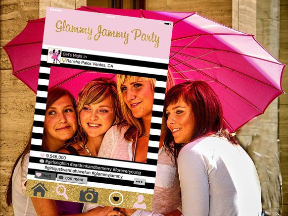 Instagram Style Frame Customized Girls Night Out Girls