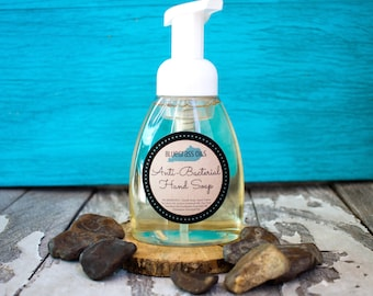 Hand Soap - Foaming Hand Soap - Liquid Hand Soap - Kitchen Soap - Vegan Hand Soap - Liquid Soap - Kitchen Soap - Bathroom Soap - Natural