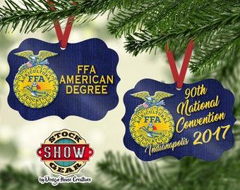 National FFA™ Organization American Degree Christmas Ornament