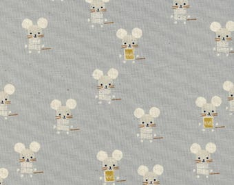 Cotton + Steel - Sunshine Collection - Little Friends in Natural