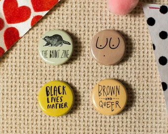 POC Power Pinback Button 4-Pack