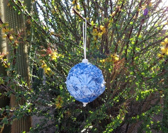 Fabric Yo-Yo Ornament