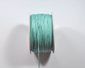 K5 - Set of 5 metres of blue waxed cord