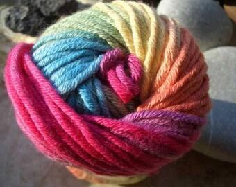 Remnants-Katia-Spain fibres-Tobago-gradient yarn 100% cotton-50 ball-in 2 colours