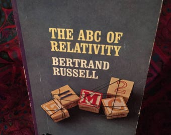 The ABC of Relativity by Bertrand Russell - 1959 paperback