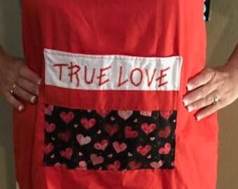 True Love Adult Apron