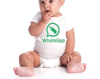 Baby onesie WhatsUpp