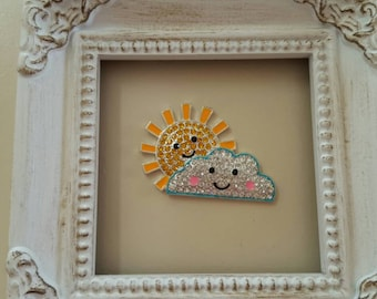 Sun and Cloud Needle Minder