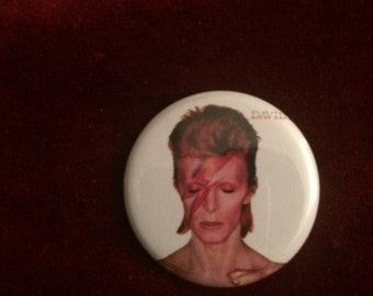Aladdin Sane Button