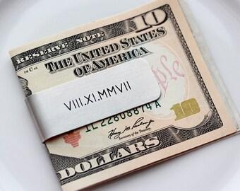 Engraved Money Clip - Gift for Him, Custom Engraved Money Clip, Personalized Gift for Men, Groomsmen Gifts, Valentine's Gift Money Clip Gift