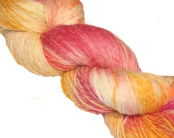 Tropical Sundae Hand Dyed 4ply Yarn