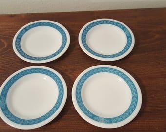 Pyrex Tableware by Corning - Bluegrass Pattern