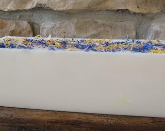 Lavender Chamomile Handmade Soap, Glycerine Soap, Glycerin Soap, Lavender Soap, Handmade Soap, Scented Soap,
