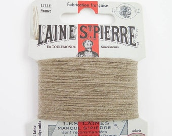 Laine St. Pierre French Wool Embroidery Floss for Hand Embroidery, Darning | Wool Embroidery Thread in RESEDA (#484-A1)