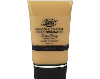 Amber Honey Liquid Foundation: Medium (Warm)