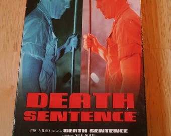 Death Sentence--Nick Nolte (probably first film), Clotis Leachman, Laurence Luckinbill, William Schallert--1974--VHS--Free Shipping