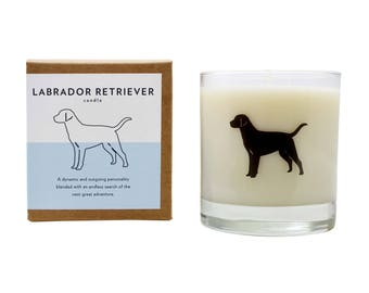 Labrador Retriever Soy Candle Soy Candle Hostess Gift Dog Candle Labrador Retriever Rescue Candle The Original Scripted Fragrance Candle