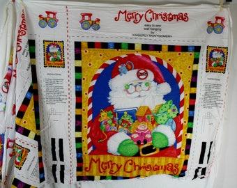 Christmas Santa DIY muur opknoping naaien Fabric paneel