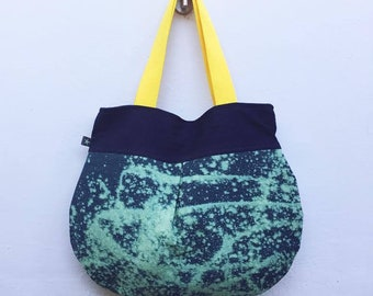 Anna Luna Beatriz // Hand Painted Hobo Bag