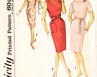 Simplicity 4855 Junior Petites' One-Piece Dress Sewing Pattern
