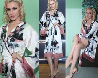 Gorgeous SILK ROBE