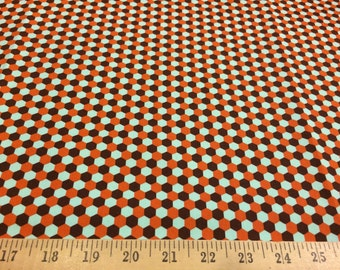 """Joel Dewberry Geo in chocolate HDJD07 100% cotton sateen home decor weight fabric 55"""" wide sold by the yard."""