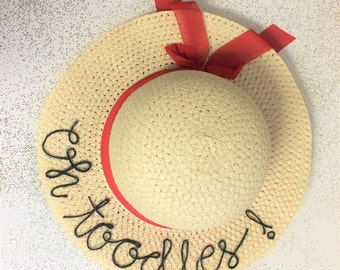 Oh Toodles Childrens Straw Hat