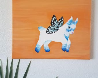 Blue Fairy Goat