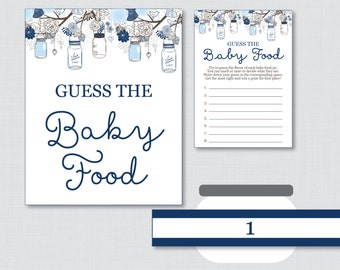 Baby food game   Etsy