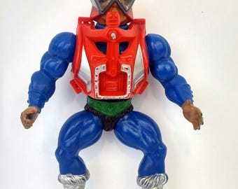 Vintage MOTU Mekanek Action Figure Masters Of The Universe He-Man