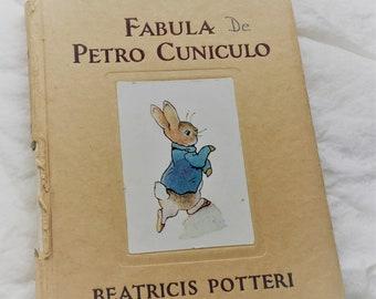 Fabula De Petro Cunicilo 1962 collectible (The Tale of Peter Rabbit) 1962 in Latin
