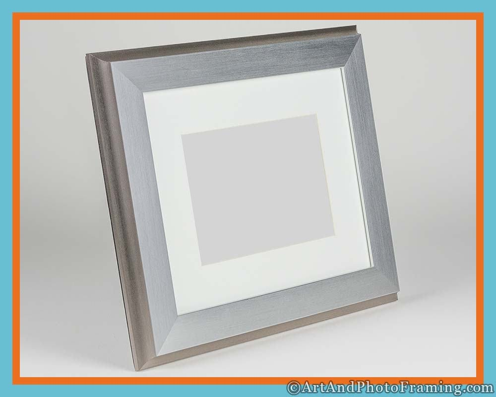 11x14 Silver Picture Frame 11x14 Silver Frame with Mat for 8x10 ...
