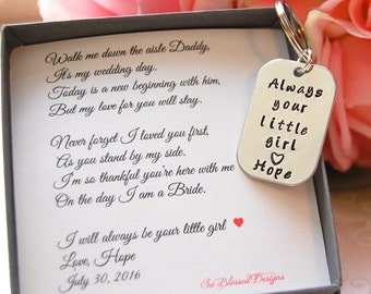 Father of the Bride, from Bride to Dad, Father of the Bride keychain, Father of Bride gift ideas, Unique Father of the Bride gifts