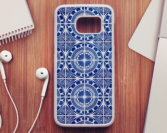 Portuguese Tile Case For Samsung Galaxy S8, Portuguese Tile Case For Samsung Galaxy S7, Portuguese Case For Samsung Galaxy S6, Case