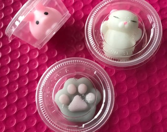 Rubber squishy's!