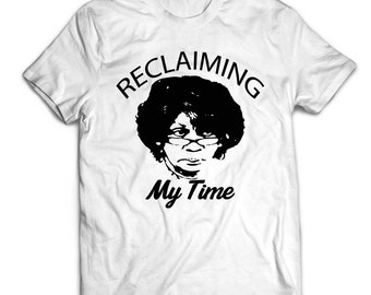 Reclaiming My Time Tee Shirt, Reclaiming My Time Shirt, Maxine Waters Reclaiming My Time, Political Tee Shirt, Activist Tees, Political Tees