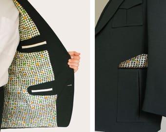 Men's Rockabilly Deep Grey Veridian Suit