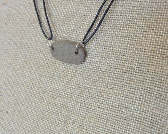 Sea Stone Necklace from the Mediterranean Sea