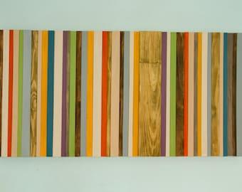 Wood Wall Art - Mid Century Art, Abstract Painting, Modern wood wall art sculpture, Customize