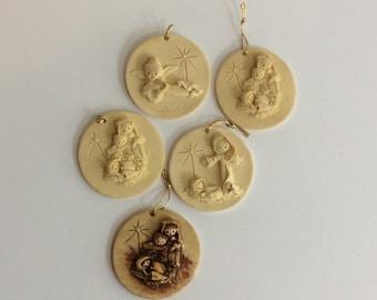 Vintage E. LaBerge Ornaments