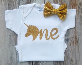 Unicorn birthday outfit, Unicorn onesie, Baby girl clothes, Onesie, Unicron birthday, Baby girl onesies, Baby girl, Baby clothes, Unicorn