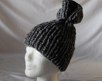Self-manufactured Ribbon yarn crochet Hat