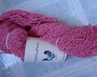 Recycled Woolrich Wool/Nylon Yarn,Pink Twist,Sport Weight,279 Yds - FREE SHIPPING