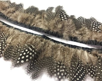 Spotted Pheasant Feather band