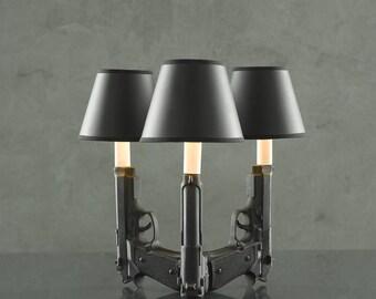 Tri 9mm Gun Lamp