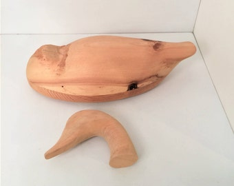 Wood Carving model kit, Canadian Snow Goose, life size wooden carving kit